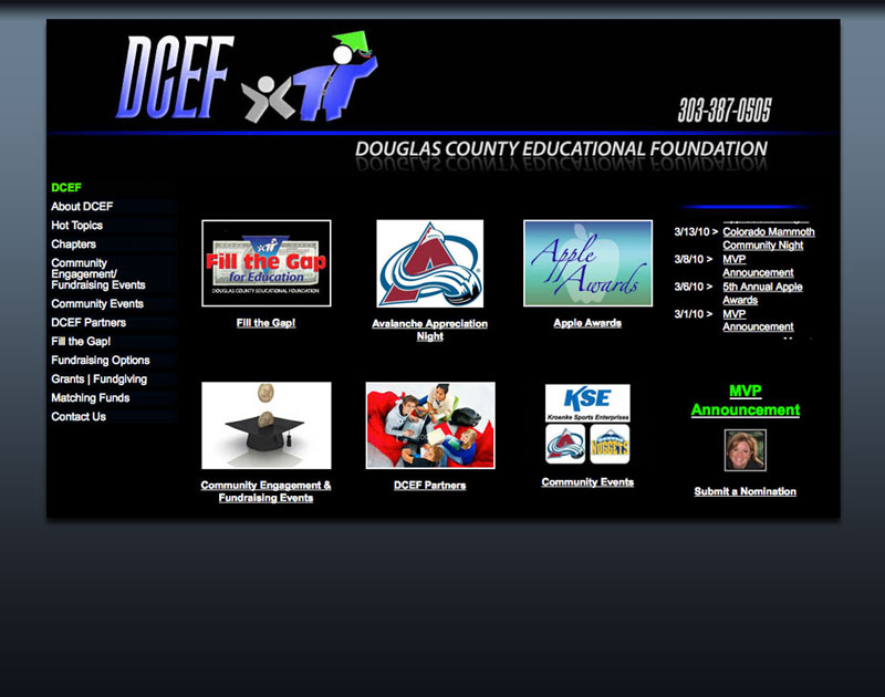 Douglas County Educational Foundation website