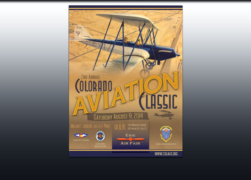 2014 Colorado Aviation Classic Poster