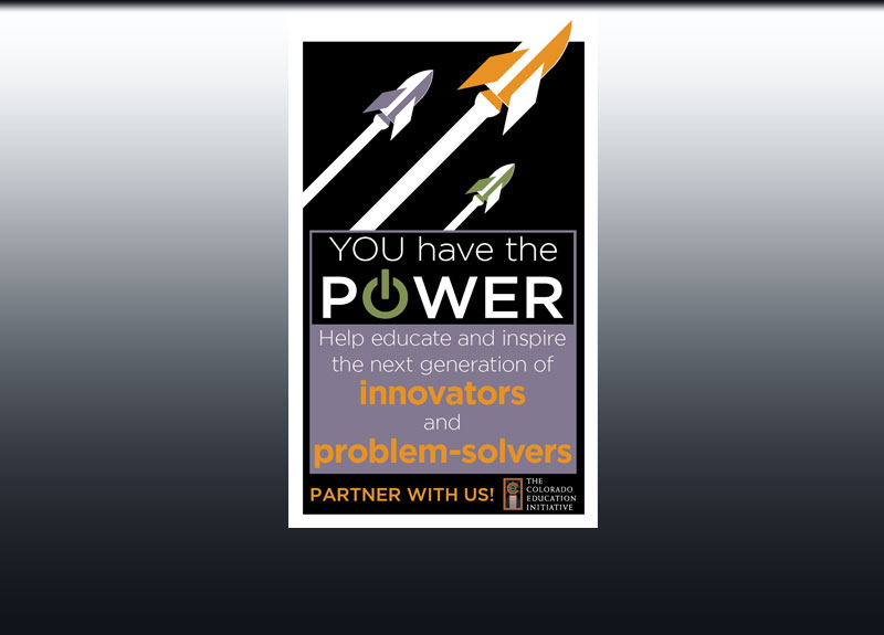 You Have the Power post card design