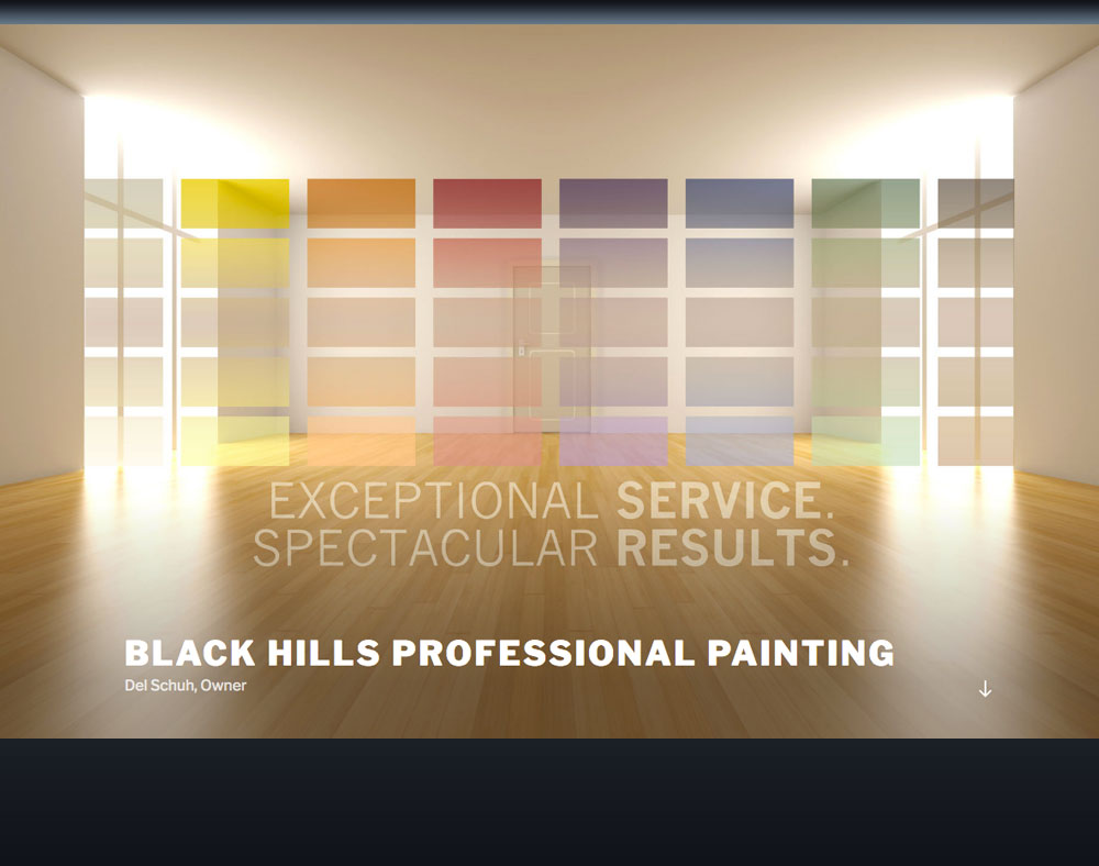 Black Hills Professional Painting