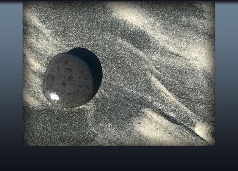 Black Rock Black Sand